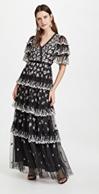 Lovell Ditsy Gown