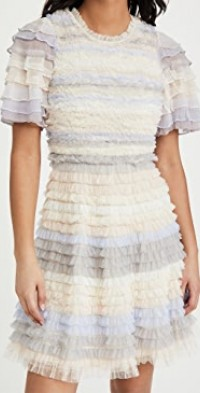 Luella Ruffle Mini Dress