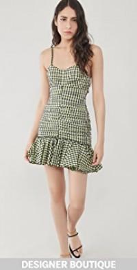 Vichy Taffeta Mini Dress