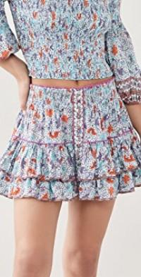 Camilla Ruffled Mini Skirt