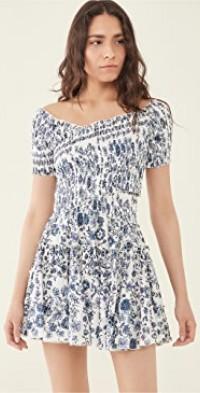 Mini Soledad Off Shoulder Dress