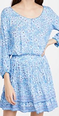 Selena Buttoned Mini Dress