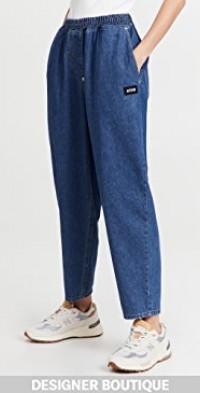 Cocoon Denim Pants