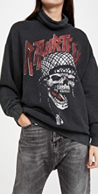 #MaskUp Battle Punk Vintage Fleece Crew Sweatshirt