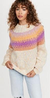 High Neck Alpaca Sweater