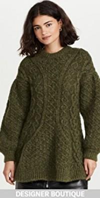 Signature Sleeve Sculpted Sweater