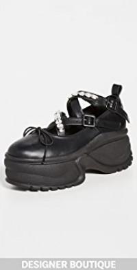 Track Sole Ballerina Platform Sneakers