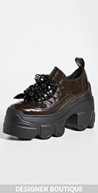 Tracker Sole Lace Up Brogue Shoes