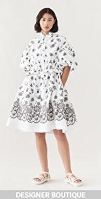 Twisted Hip Shirt Dress
