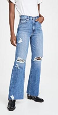 Grace High Rise Wide Leg Jeans