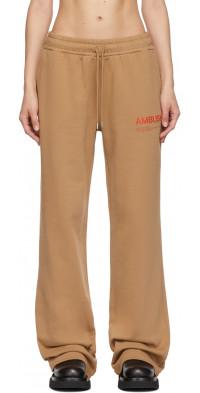 AMBUSH Beige Fleece 'Workshop' Lounge Pants