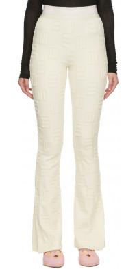 AMBUSH Off-White Monogram Flare Lounge Pants