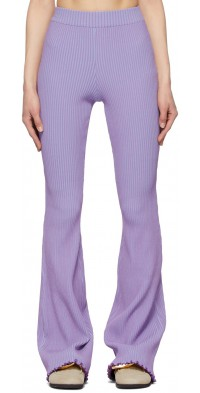 Andersson Bell Purple & Blue Gianna Lounge Pants