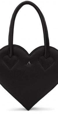 Ashley Williams Black Heart Bag