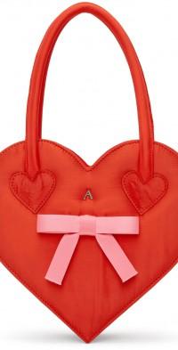 Ashley Williams Red Heart Bag