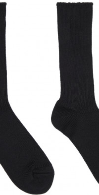 AURALEE Cotton & Cashmere Low Gauge Socks
