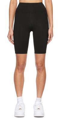 BONDI BORN Black Dakota Sport Shorts