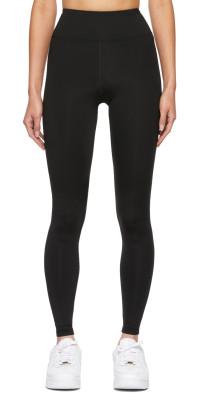 BONDI BORN Black Luna Sport Leggings
