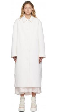 Cecilie Bahnsen White Hayden Coat