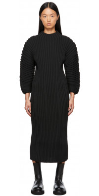 CFCL Black Column Dress
