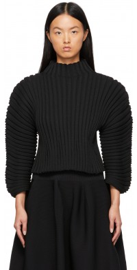 CFCL Black Column Sweater