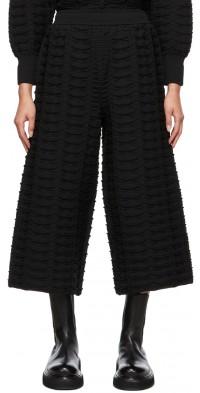 CFCL Black Facade Lounge Pants