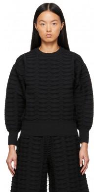CFCL Black Facade Sweater