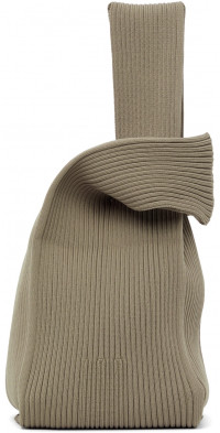 CFCL Taupe Notched Rib Tote