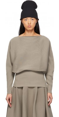CFCL Taupe Pottery Sweater