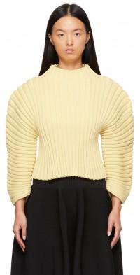 CFCL Yellow Column Sweater
