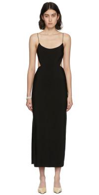 Christopher Esber Black Redux Backless Dress