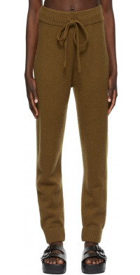 CO Brown Cashmere Lounge Pants