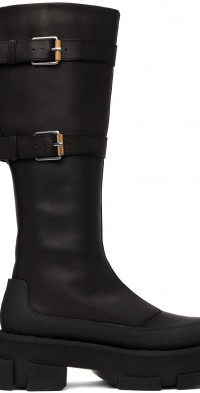 Dion Lee both Edition Knee High Gao Boots