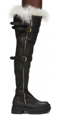 Dion Lee both Edition Thigh High Gao Boots