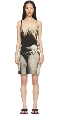 ELLISS Black & Grey 'Grab My Body' Mini Dress