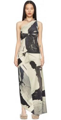 ELLISS Grey Twisted Dress