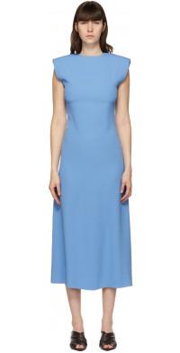 GAUCHERE Blue Suzanna Dress
