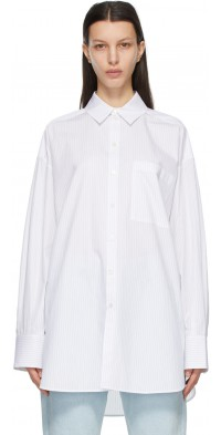 GAUCHERE White & Black Sylvie Shirt