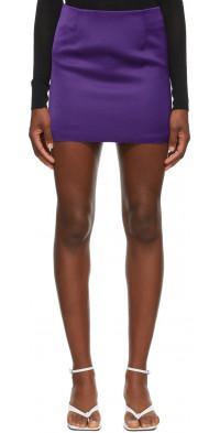 Georgia Alice Purple Power Mini Skirt