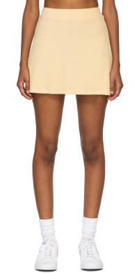 Gil Rodriguez SSENSE Exclusive Orange Terry Tennis Skirt