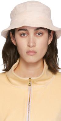 Gil Rodriguez SSENSE Exclusive Pink Terry Bucket Hat