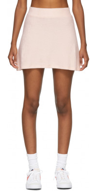Gil Rodriguez SSENSE Exclusive Pink Terry Tennis Skirt