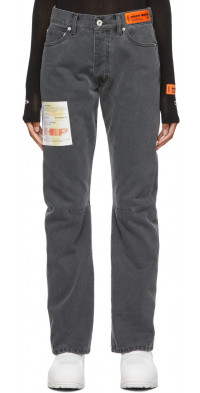 Heron Preston Acid Wash Pence Regular Jeans