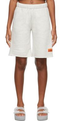 Heron Preston Different Fleece Shorts