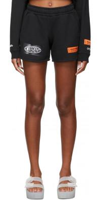 Heron Preston Fleece Jogging Shorts