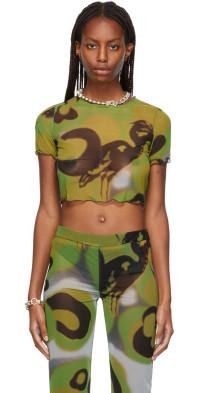 Heron Preston Heron Camo Mesh T-Shirt