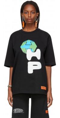 Heron Preston Spray Globe T-Shirt