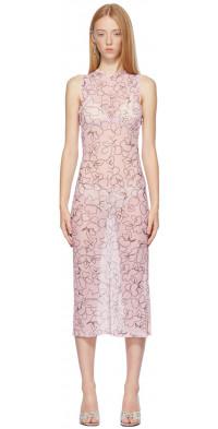 Ichiyo SSENSE Exclusive Pink Blooming Skin Dress