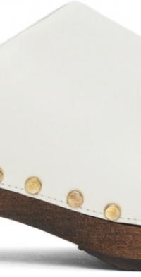 Khaite Leather Lucca Clogs
