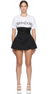 KIMHEKIM Black Emma Miniskirt